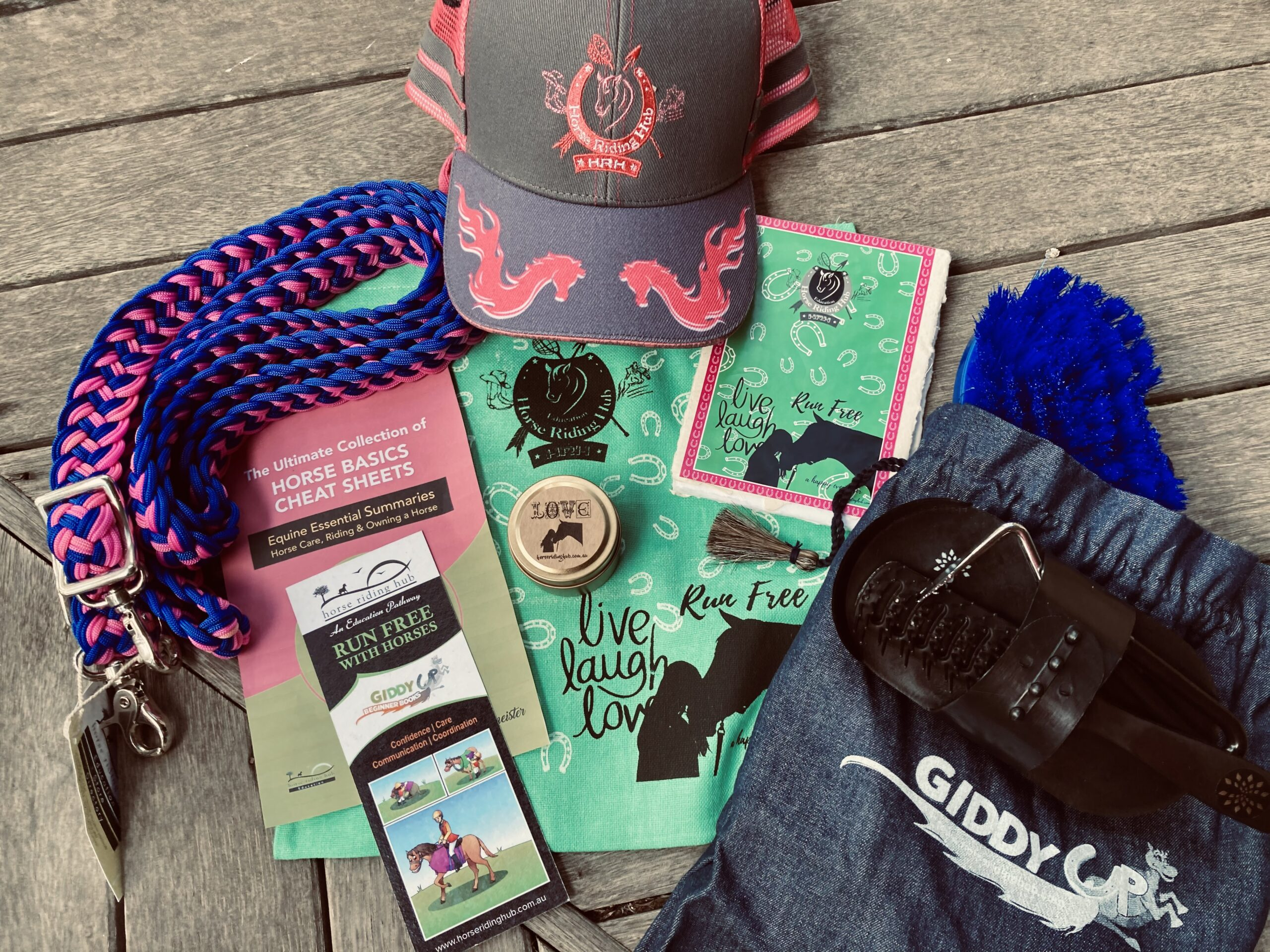 The Ultimate Horse Girl Gift Pack Items