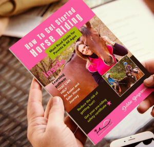 How to get started horse riding book